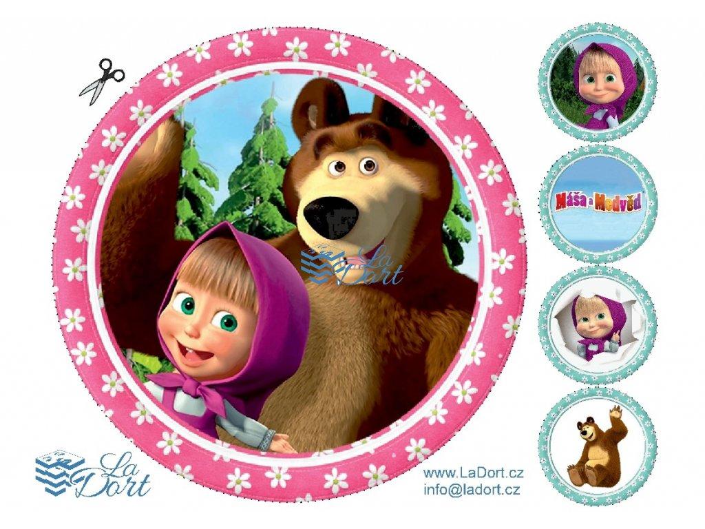 Máša a Medvěd - A4 - 00085