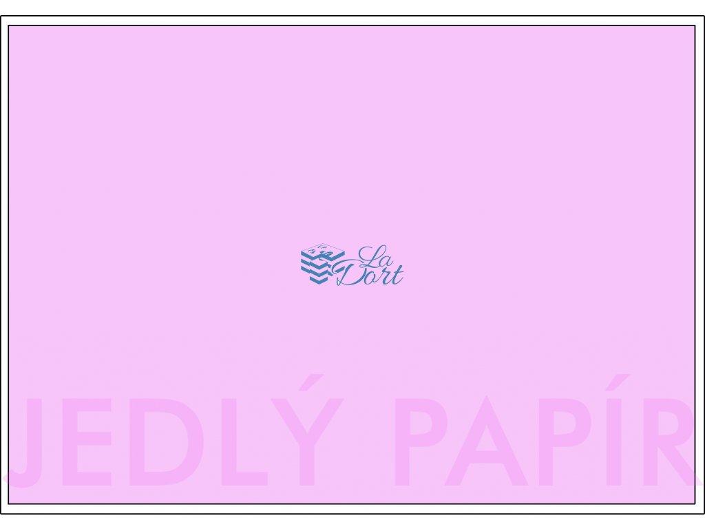 Jedlý papír - A4 obdélník