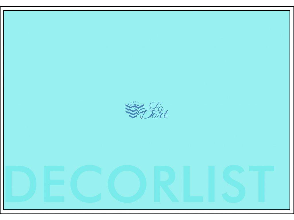 Decor list - A4 obdélník