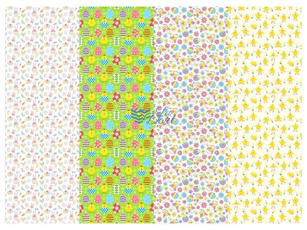 Sugar Stamps - A4 - Velikonoce - 48 ks na archu - 00096