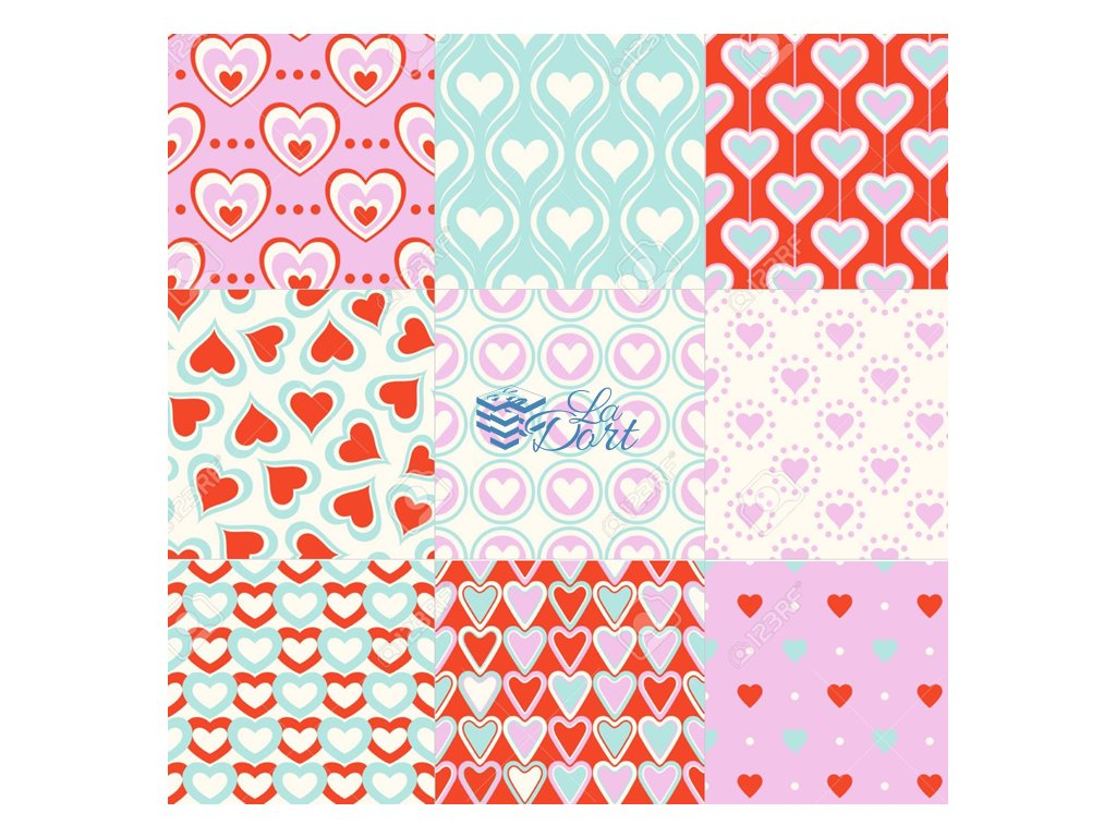 Sugar Stamps - A4 - Svatební - 48 ks na archu - 00110