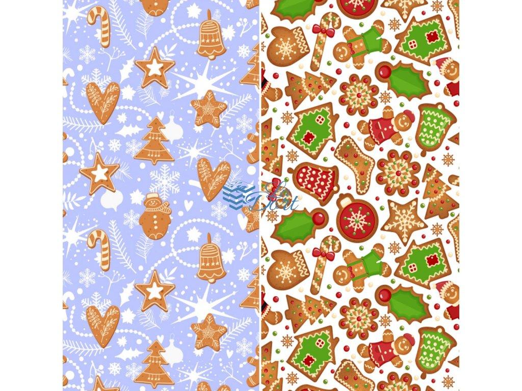 Sugar Stamps - A4 - Vánoce - nejméně 48 ks na archu - 00195