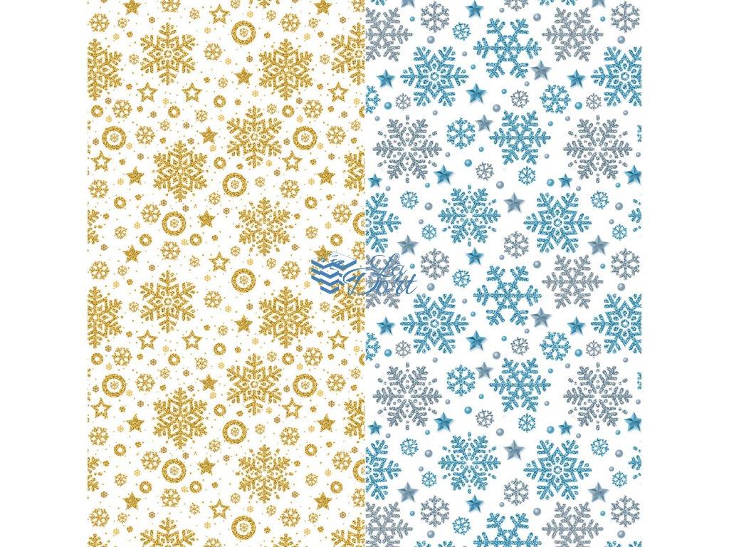Sugar Stamps - A4 - Vánoce - nejméně 48 ks na archu - 00198