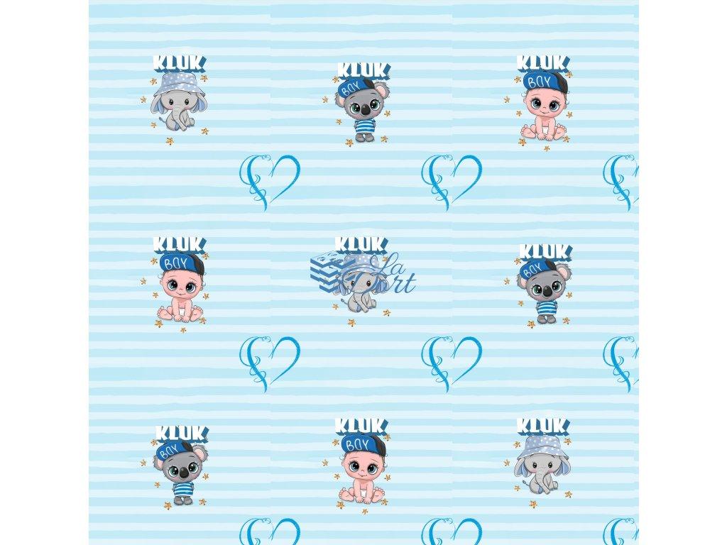 Sugar Stamps - A4 - BabyShower Kluk - až 83 ks na archu - 00204