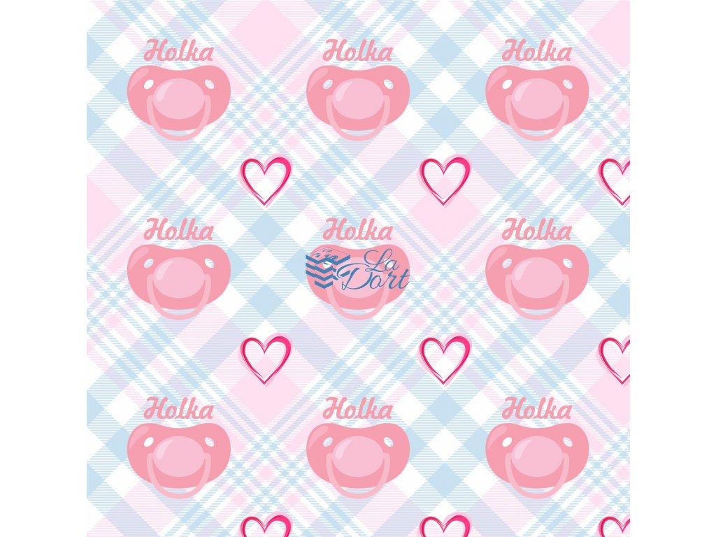 Sugar Stamps - A4 - BabyShower Holka - až 83 ks na archu - 00207