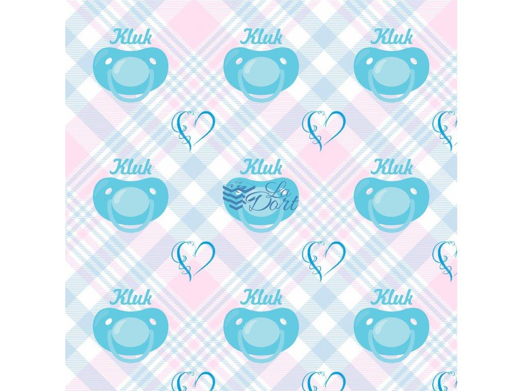 Sugar Stamps - A4 - BabyShower Kluk - až 83 ks na archu - 00208