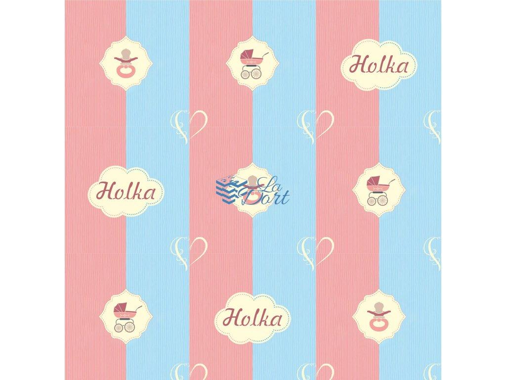 Sugar Stamps - A4 - BabyShower Holka - až 83 ks na archu - 00209