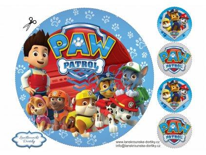 Tlapková patrola - PAW Patrol - A4 - 00002
