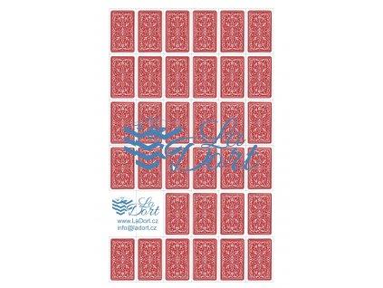 Hrací karty - Rub - 34 ks - A4 - 00046