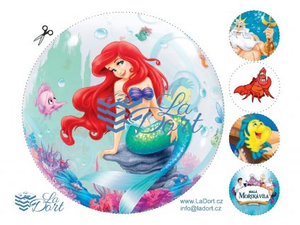 Malá mořská víla - The Little Mermaid - A4 - 00076