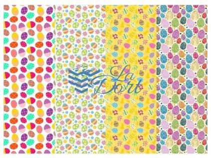 Sugar Stamps - A4 - Velikonoce - 48 ks na archu - 00094