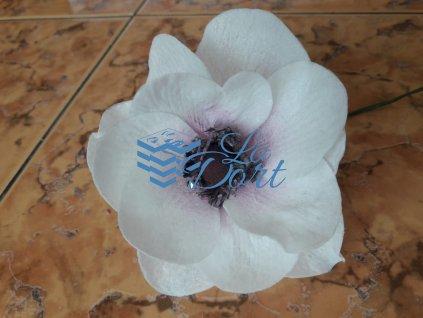 Sasanka - 1x A4 - Wafer paper - 16 okvětních lístků 2 květy - 00103