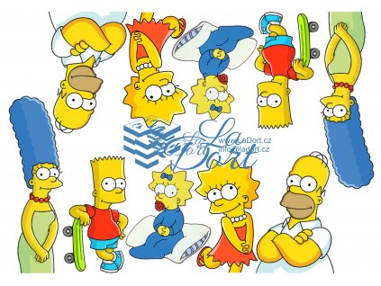Simpsnovi - The Simpsons - A4 - 00138