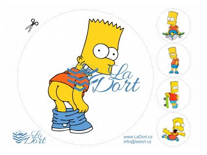 Simpsnovi - The Simpsons - A4 - 00139