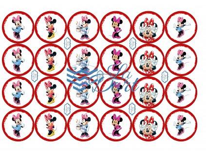 Minnie - Disney - A4 24ks ⌀4,7 cm - 00147