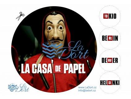 Papírový dům - La casa de papel - Money Heist - A4 - 00152