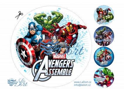 Avengers - Marvel - A4 - 00164