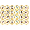 Mickey Mouse - Disney - A4 24ks ⌀4,7 cm  - 00146