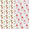 Sugar Stamps - A4 - Vánoce - nejméně 48 ks na archu - 00194