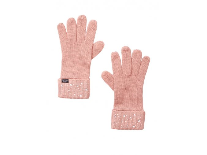 ruzove rukavice