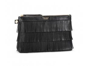 VS kosmetická taška so strapcami černá I