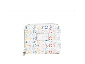 Dámská menší LOGO peněženka Guess - barevná