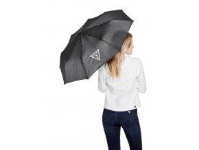 Dámský deštník Guess do deště - černý