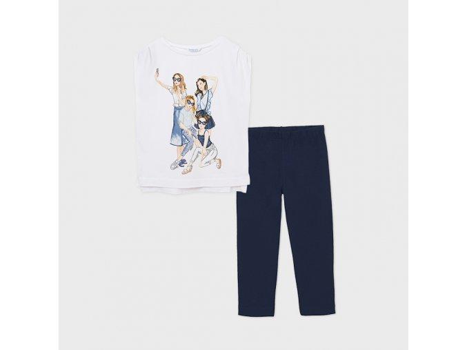 Dívčí set legíny a trička Mayoral 6729