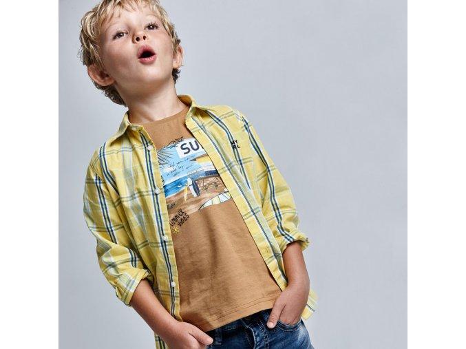 Chlapecké triko s krátkým rukávem Mayoral 3031