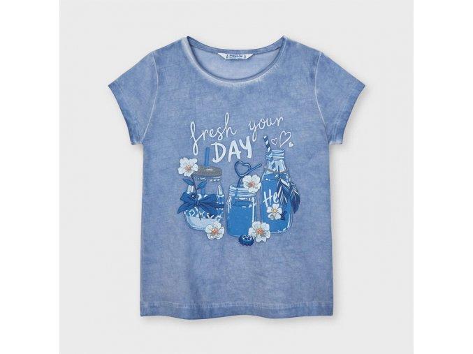 Dívčí triko s krátkým rukávem Mayoral 3015