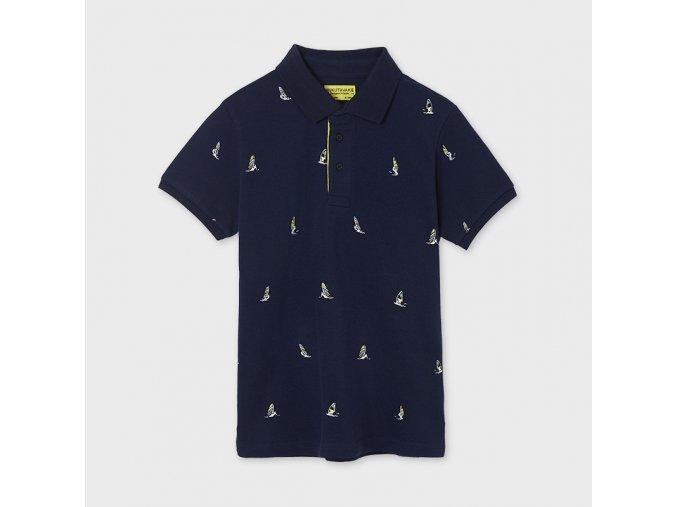 Chlapecké polo triko s krátkým rukávem Mayoral 6102