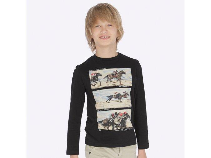 Chlapecké triko s dlouhým rukávem Mayoral 7033