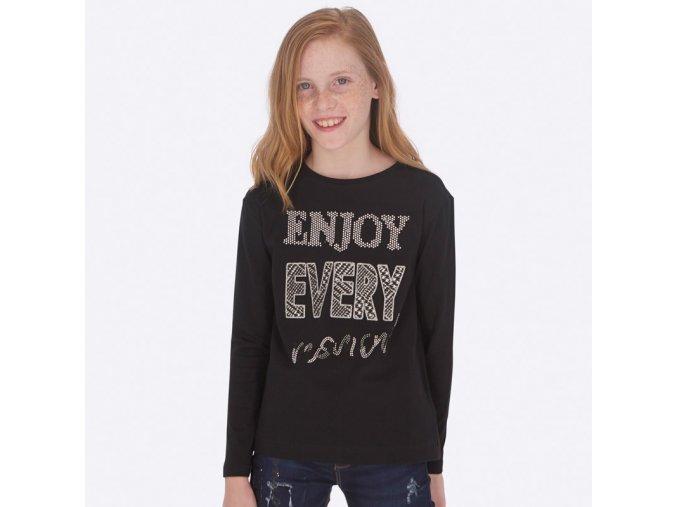 Dívčí triko s dlouhým rukávem Mayoral 7017