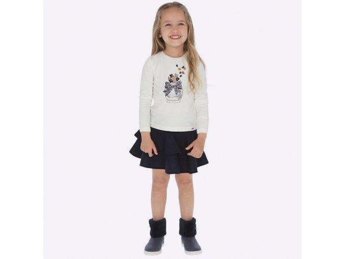 Dívčí set sukně a trička Mayoral 4950