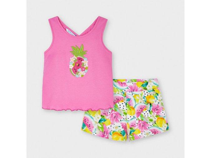 Dívčí letní set trika a kraťasů Mayoral 3215
