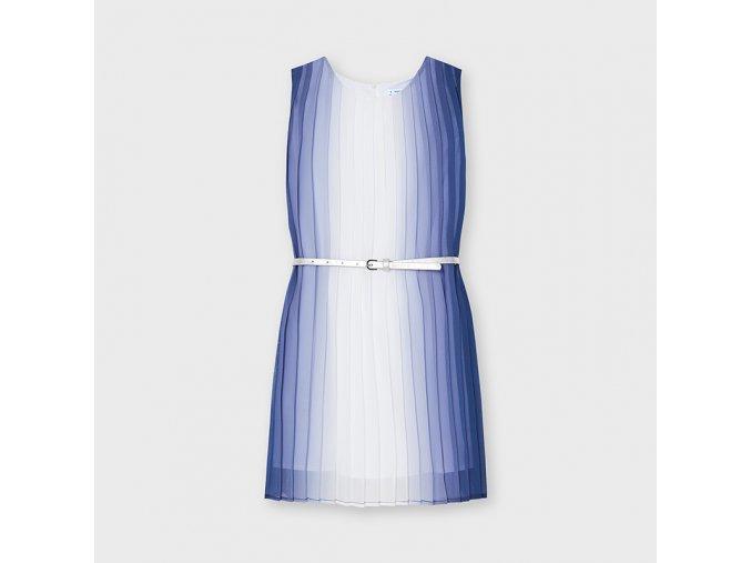 Dívčí letní šaty s páskem Mayoral 6942