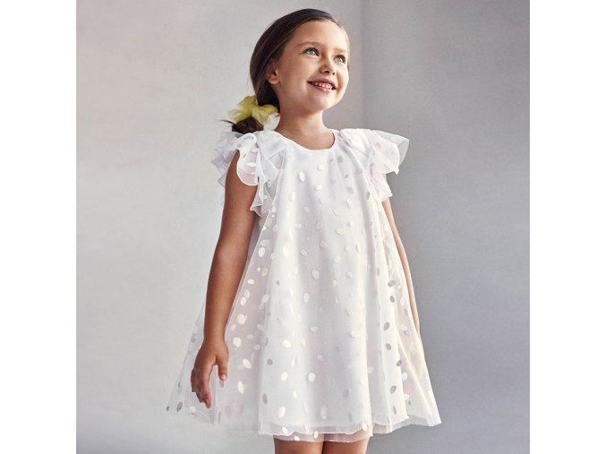 Dívčí svatební letní šaty Mayoral 3912