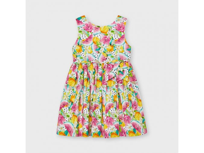Dívčí letní šaty Mayoral 3929 růžové