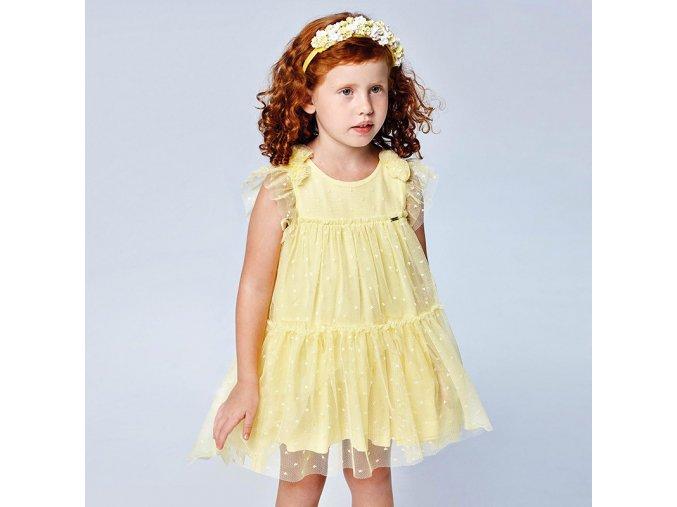 Dívčí letní šaty Mayoral 3913