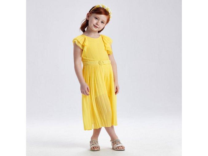 Dívčí letní overal Mayoral 3821 žlutý