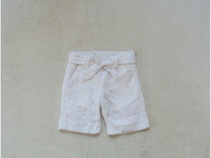 Dívčí letní ažurové kraťasy Nucleo