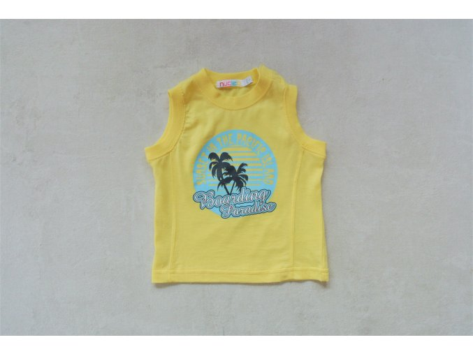 Chlapecké triko bez rukávů Nucleo