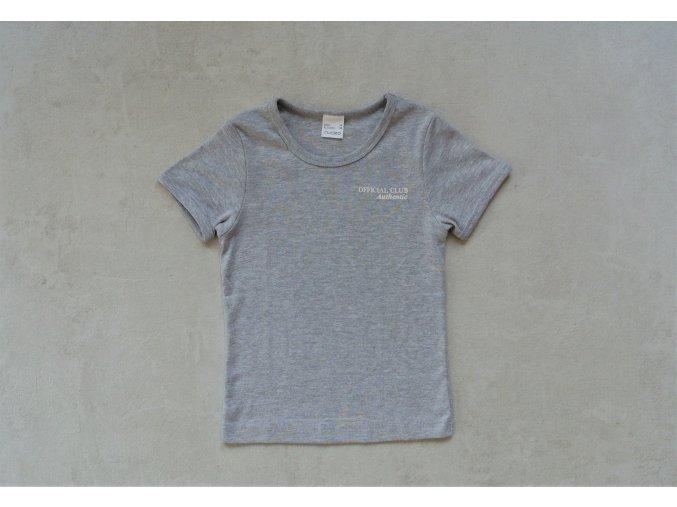 Chlapecké basic triko s krátkým rukávem Nucleo