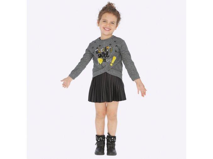 Dívčí šaty s dlouhým rukávem Mayoral 4941