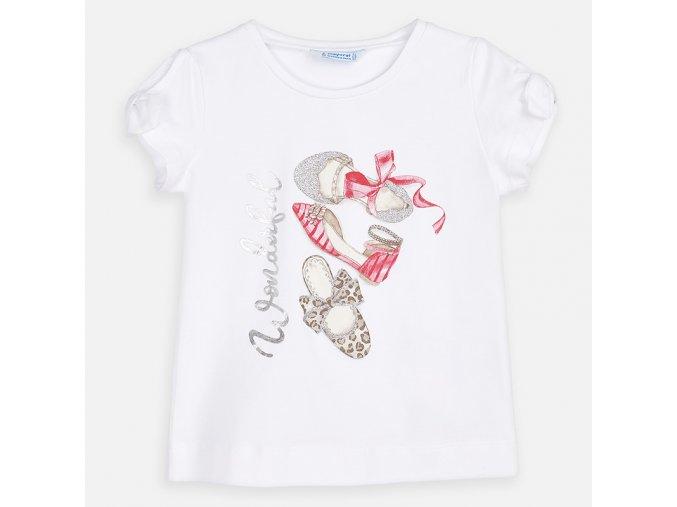 Dívčí triko s krátkým rukávem Mayoral 3010