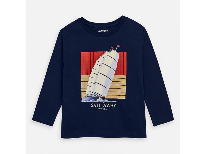 Chlapecké triko s dlouhým rukávem Mayoral 3075