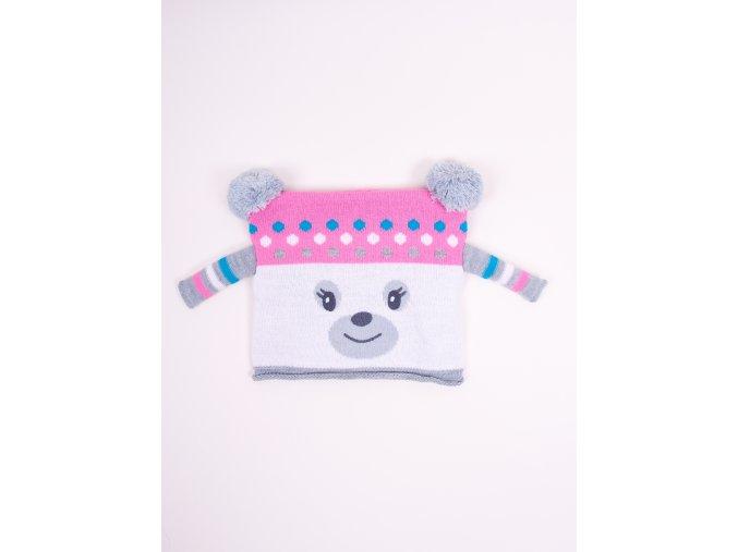 Dívčí zimní čepice Nikola YO! CLUB
