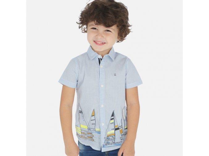 Chlapecká košile s krátkým rukávem Mayoral 3165