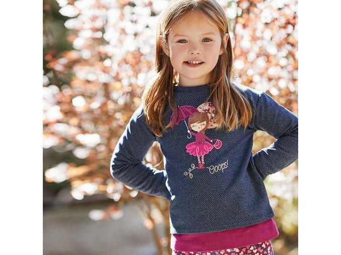 Dívčí teplejší mikina Mayoral 4404