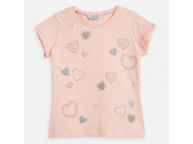 Dívčí triko s krátkým rukávem Mayoral 3012